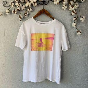 Zara Graphic T- shirt Outside Lover M